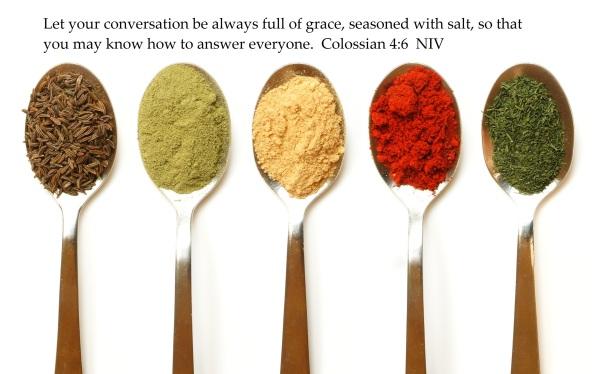 seasoning verse